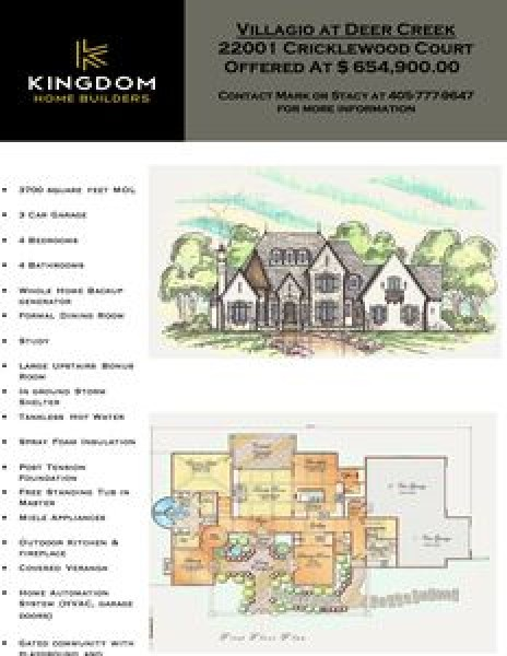 22001 Cricklewood Ct, Edmond, OK 73012